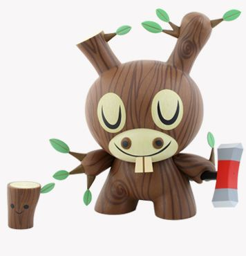 Wood Donkey Dunny