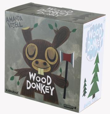 Wood Donkey Dunny box